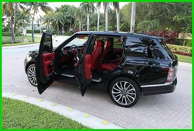 2014 Land Rover Range Rover Supercharged Autobiography 2014 Supercharged Autobiography Used 5L V8 32V Automatic 4WD SUV Premium