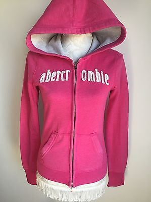 ABERCROMBIE AND FITCH PINK GIRLS HOODIE Size XL