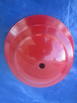 """A Coleman Red Gas Lantern Part. """"no Marks"""" On A """"low-Top"""" Red Ventilator."""