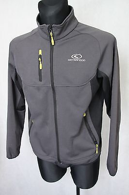 Catmandoo Men's Soft Shell Golf Grey Clima Stretch Performance Jacket sz S