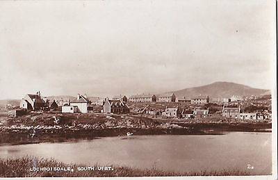 Lochboisdale, South Uist ( Real Picture Postcard)