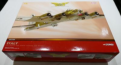 """Corgi The Aviation Archive Model No. AA33305 Boeing B-17g """"2nd Patches"""""""