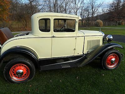 1931 Ford Model A 2 Door Coupe 1931 Ford 5 Window Coupe