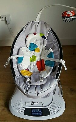4Moms mamaRoo Baby Rocker swing bouncer + Newborn Insert