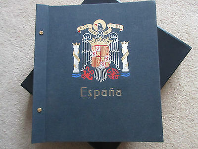 Spain Collection in Davo Printed Album.Used.