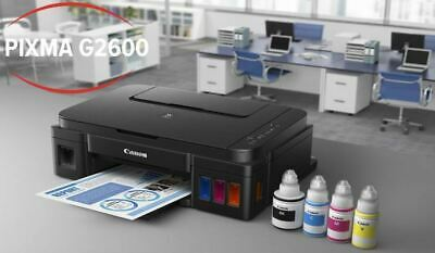 Canon Pixma G2600 Print Copy Scan All-In-One Printer Continuous Ink Printer