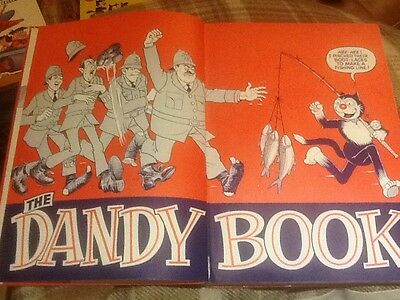 The Dandy Book Annual 1970 D.C. Thomson Very Good Condition
