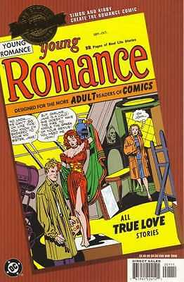 Millennium Edition Young Romance #1 in Near Mint + condition. FREE bag/board