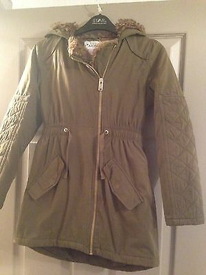 Girls Coat By M&S Age 7/8