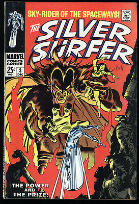 Silver Surfer #3  FN Cream Pages 1st app Mephisto
