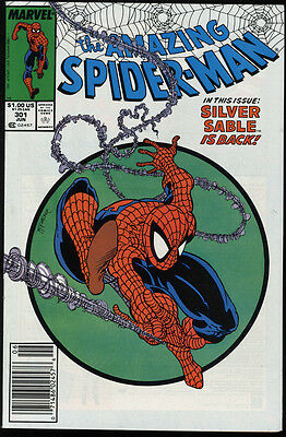 Amazing Spider-Man #301 NM 9.4 White Pages