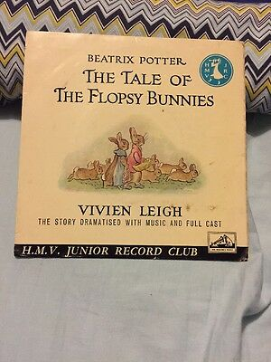 The Tale Of The Flopsy Bunnies Vinyl Record
