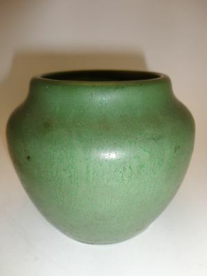 HAMPSHIRE VASE early 1900's well marked #54 with inscised mark and T Circle RARE