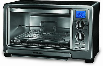 BLACK+DECKER TO1021BC Infrared Oven with Rotisserie Silver