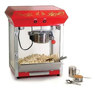 Maxi-Matic EPM-450 Elite Tabletop Old-Fashioned 4-Ounce Kettle Popcorn Popper...