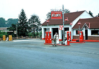 "5x7"" photo ATLANTIC RICHFIELD GAS SERVICE STATION FUEL PRICE 25.9 cents"
