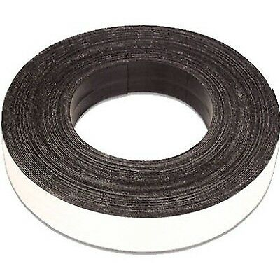 Small Parts Flexible Magnet Tape 1/16-Inch Thick 1-Inch Width 10 Foot Roll (1...
