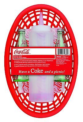 TableCraft CC374N Coca-Cola Picnic Pack Red