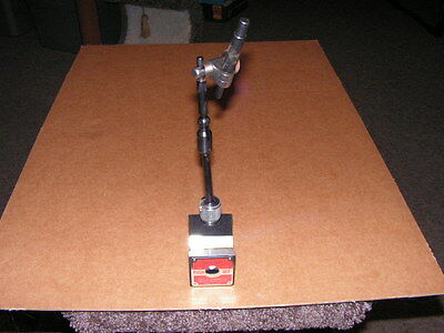 STARRETT 657A Magnetic Base with Swivel Post Assembly USA