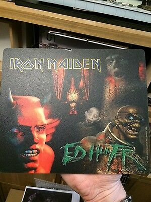 IRON MAIDEN - Ed Hunter - official Fan Club issued mouse mat unused