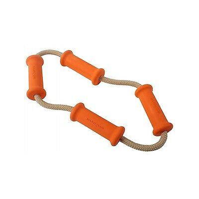 Major Dog Tussle Dummy Toy 8.75-Inch Small Orange