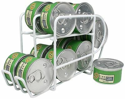 IRIS Wire Can Dispenser for Canned Cat Food Storage 3-Ounce 12 Cans