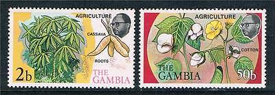 Gambia 1973 Agriculture SG 307/8 MNH