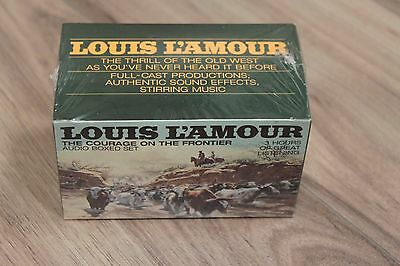 Louis L'Amour: The courage on the frontier Audio Set Brand New! Sealed!