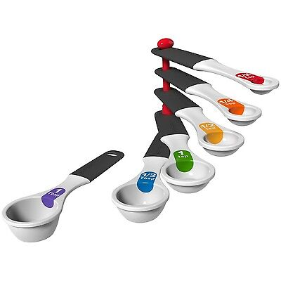 Good Cook Touch 6 Piece Measuring Spoon Set White