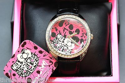 New Hello Kitty Watch *Limited Edition* Swarovski & Wooden Box