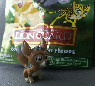 THE LION GUARD DOGO mini blind bag figure Just Play 2016 Disney Jr. Series 3
