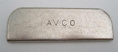 Vintage AVCO Lap Guitar Steel Slide Bar NOS