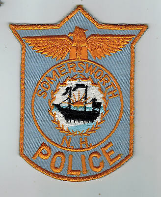 Sommersworth Police patch - New Hampshire NH