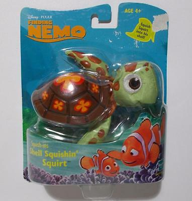 Finding Nemo Squish Ins Shell Squishin' Squirt Toy Disney Pixar Sealed 2002
