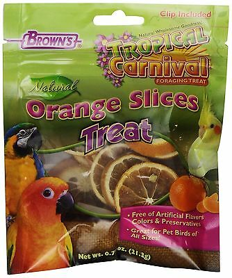 F.M. Brown Tropical Carnival Natural Orange Slices 0.75-Ounce