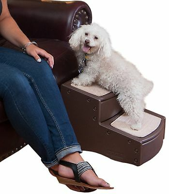 Pet Gear Easy Step-II Stairs for Cats and Dogs Up to 75-Pound Chocolate
