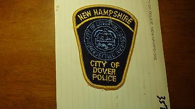 Dover  New Hampshire Police Department Salesman Copy Obsolete Patch Bxsp#357