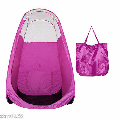 Tampa Bay Tan Overspray Popup Pink Tent - Free Ship In Usa