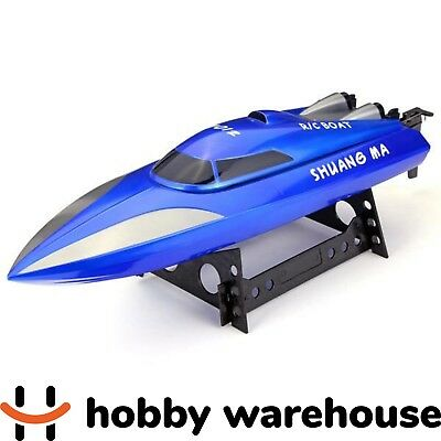 Double Horse 7012 2.4GHz RC Racing Boat - Blue