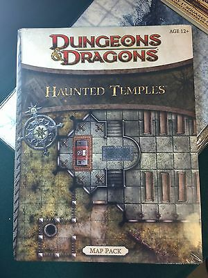 Haunted Temples ~ Dungeons and Dragons Map Pack
