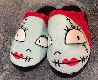 New NBC Nightmare Before Christmas SALLY Womans HOUSE SLIPPERS Size M 7 - 8