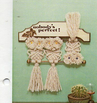"""enjoy Macrame"" Booklet--Shawl, Cross, Etc."