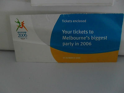 Olympic Games tickets. 2006