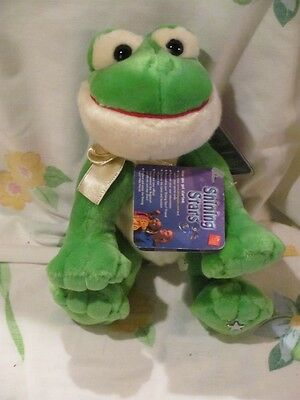Russ Shining Star Frog Mint with Tags Code Plush Stuffed