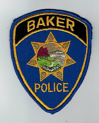 Baker Police patch - Montana MT