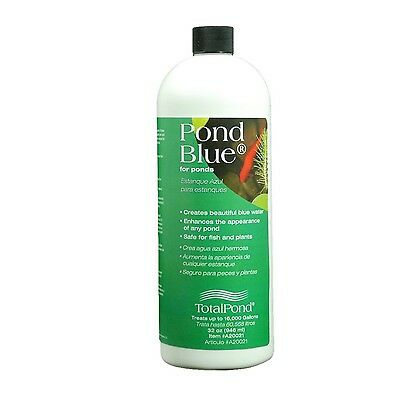 Total Pond A20021 32-Ounce Pond Blue Water Treatment