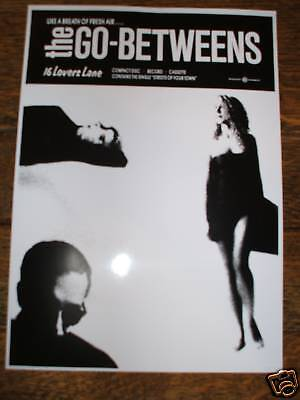 The Go-Betweens '16 Lovers Lane' Poster