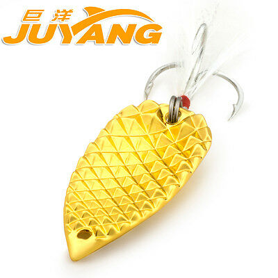 JUAYNG diamond cicada spoon reflection freshwater metal fishing lure