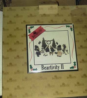 Big Sky Carvers Beartivity II Bearfoots Jeff Fleming Nativity 5 Piece Set NEW