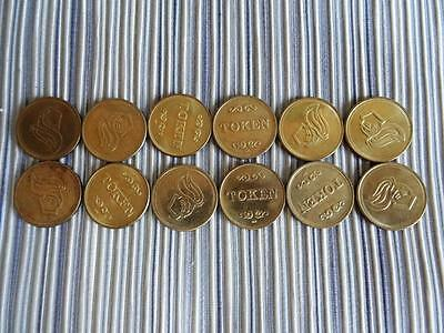 VIKING Game Token Coin Lot of 12, Free shipping